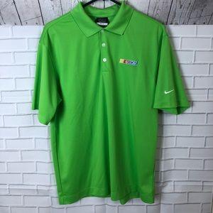 Men's Nike Nascar polo shirt size medium
